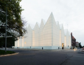 Szczecin Philharmonic Hall wins Mies van der Rohe Award 2015