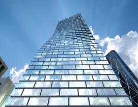 Work begins on Bjarke Ingels' pixelated tower in Calgary