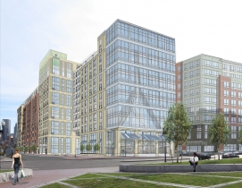 The Victor, Boston, 12-story, 377,000 sf residential tower