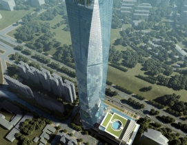 The architectural design competition was led by developer Guangxi Wei Zhuang Rea