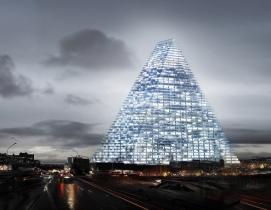 Herzog & de Meuron's triangle tower design stirs controversy in Paris