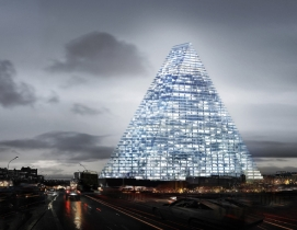 Herzog & de Meuron's triangle tower design stirs controversy in Paris