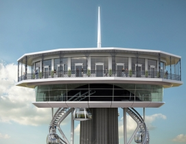 New Orleans' Tricentennial Tower design features gondola ride