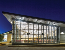 The only freestanding dining facility on the main University of Houston campus,