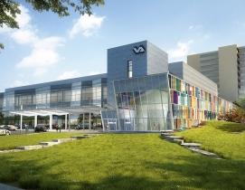 VA clinic exterior