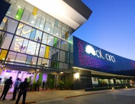 A color-changing gateway for Altara Center