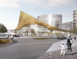 BIG releases designs for transport hub in Swedish city