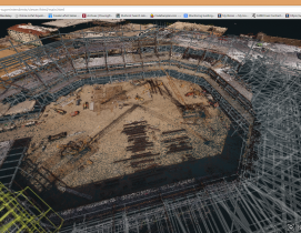 Turner streamlines construction progress tracking using predictive visual data analytics