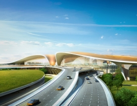 Zaha Hadid-Designed Terminal in Beijing Will Be World's Largest
