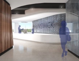 A rendering of Brunswick's current Headquarters