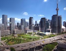 Canoe Landing Campus, Toronto, designed by ZAS Architects