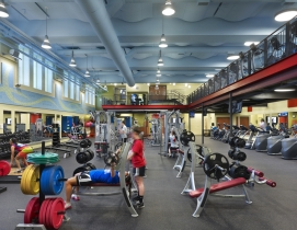 The $3.4 million Gulati Complex includes a 5,000-sf fitness center.