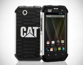 Caterpillars Cat B15 rugged smartphone