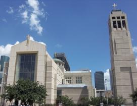 Co-Cathedral of the Sacred Heart, Houston. Photo: Farragutful via Wikimedia Comm