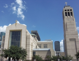 Co-Cathedral of the Sacred Heart, Houston. Photo: Farragutful via Wikimedia Comm