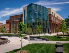 Centennial Hall is the first new academic building on the UW-Eau Claire campus i