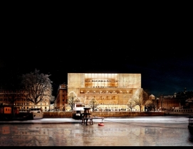 David Chipperfield Architects has won the Nobel Center architectural competition