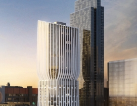 "Zaha Hadid designs a tower of ""stacked vases"" in Melbourne"