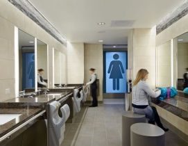 Why corporate bathrooms stink and how good design can fix this