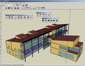 Using EnergyPlus, AEC professionals can model heating, cooling, lighting, ventil