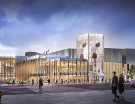 Two milestones recognized as Diamond Schmitt designs upgrades to the National Arts Centre in Ottawa