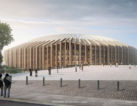 Herzog & de Meuron unveils renderings of redeveloped stadium for Chelsea FC