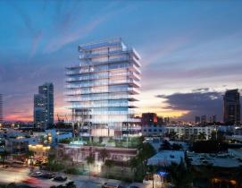 A new luxury high rise reflects a resurgent condo market in Miami Beach