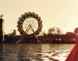 SCAU Architectes design Ferris wheel hotel in Paris