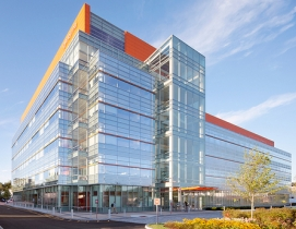 The 180,000-sf, six-story laboratory was completed in 2011 as part of the master
