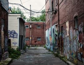 MBCI coated roof and wall panels virtually graffiti proof
