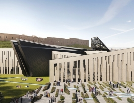 Studio Libeskind designs angular Kurdish museum rich with symbolism