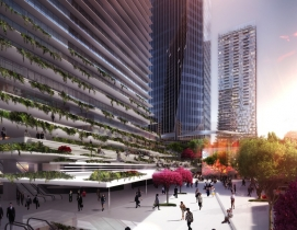 Ingenhoven Architects unveils plans for two Tokyo towers