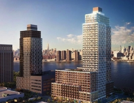 Hunters Point South, Phase 1. Rendering courtesy SHoP Architects