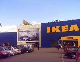 IKEA Headquarters in lmhult, Sweden. Photo: Wikimedia Commons