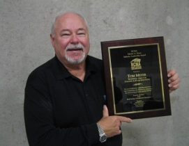 Tom Meyer, technical director at Coating & Foam Solutions, is the recipient of t