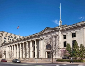 Young Conaway is the sole tenant of the notable Daniel L. Herrmann Courthouse in