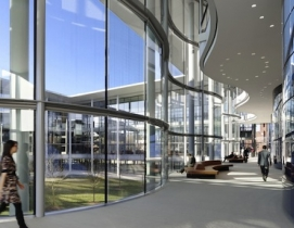 Yale School of Management, Edward P. Evans Hall. All images: Foster + Partners.