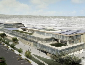 Rendering courtesy of WRNS Studio and Clive Wilkinson Architects.