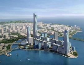 Construction site updates from the new $100 billion Saudi Arabian city