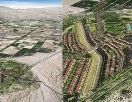 La Entrada master-planned community in Coachella. Renderings: KTGY