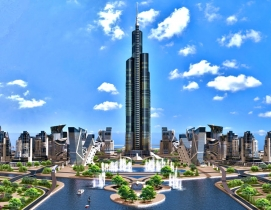 Azerbaijan Tower tops list of 10 tallest buildings coming soon