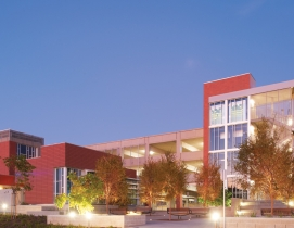 The LEED Platinum, net-zero-ready campus police substation at Miramar College, a