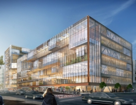 SHoP Architects unveils dual-glass-box scheme for Uber HQ