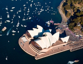 Sydney Opera House Photo: Pavel via Wikimedia Commons