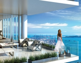 Miami developers are designing luxury housing to cater to out-of-town buyers and renters