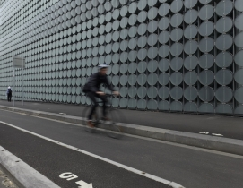 RMIT University's Design Hub, Melbourne, Australia. Photo: Neal Jennings
