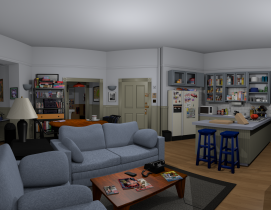 """Greg Miller used the Unity coding language to create """"Jerry's Place."""" All render"""