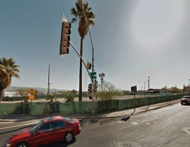 This city lot breaks numerous major rules in the code. Photo: Google Street View