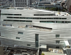 Rippled façade defines Snøhetta's San Francisco Museum of Modern Art expansion design
