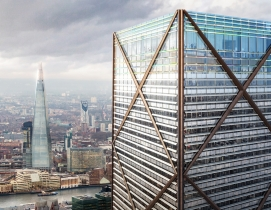 Architect Eric Parry unveils design for London's tallest building